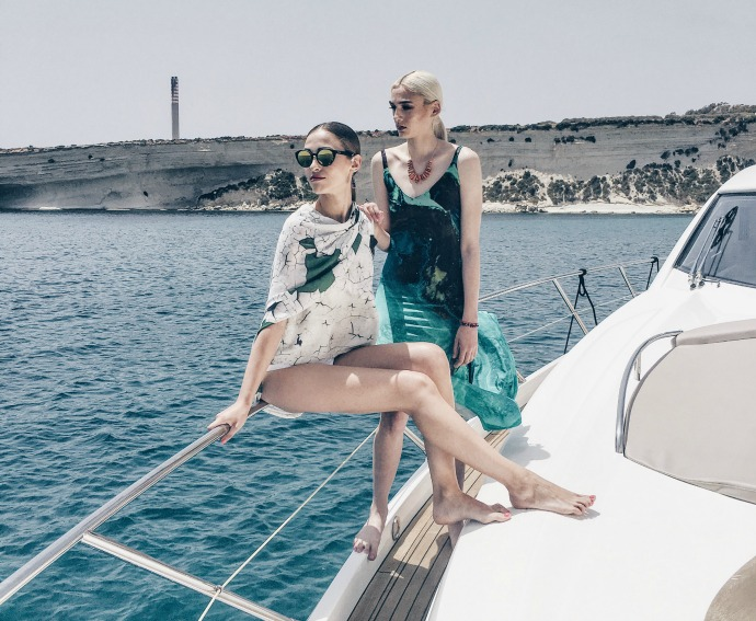 Style on Board Ultimate Yacht Fashion Photography Azure Ultra