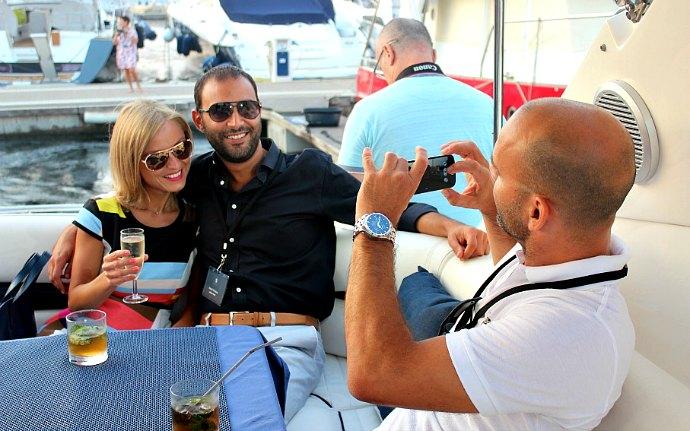 Malta on a Sunseeker yacht