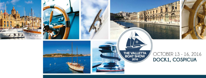 Valletta Boat Show 2016 event poster