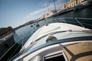 Azure Ultra Malta luxury Sunseeker yacht