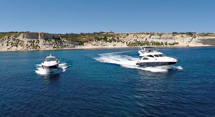 Azure Ultra Sunseeker yachts in Malta