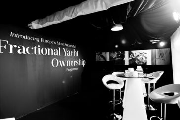 Azure Ultra Fractional Yacht Ownership stand at the Valletta Boat Show 2015