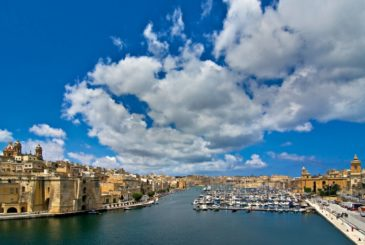 Vittoriosa or Birgu yacht marina in Malta