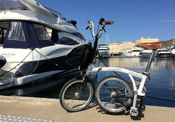 Sunseeker bike for Azure Ultra Malta