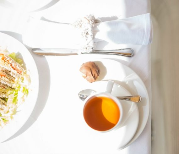 sunny afternoon tea on a luxury yacht in Malta