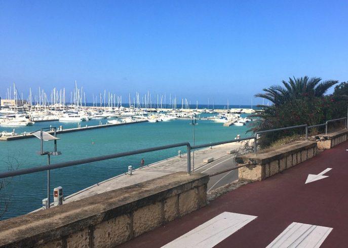 Coastline of Marina di Ragusa