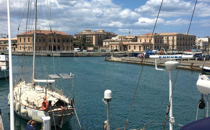 Syracuse Marina in Sicily