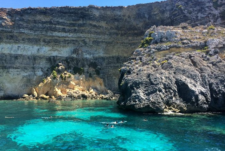 Comino Maltese Islands azure waters