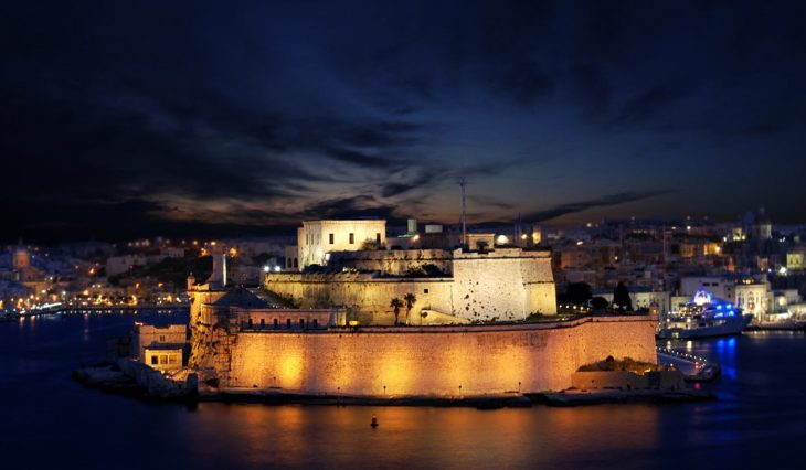 Fort St Angelo | Why Malta is the no. 1 country for boat charter