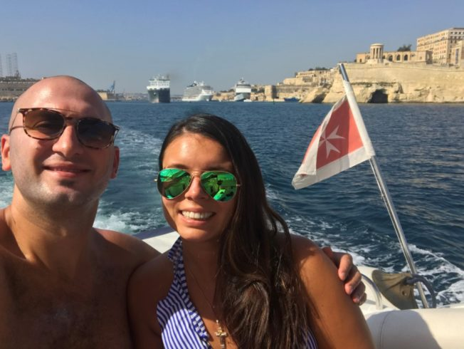 Marriage Proposal on a Yacht in Malta - Johnny and Ana